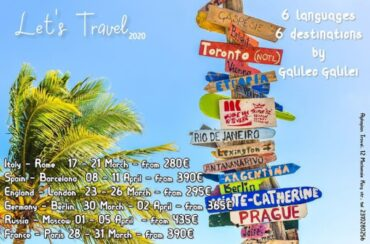 Travel with Galileo 6 Languages 6 Destinations. Travel with Galileo Galilei in Italy, Spain,…